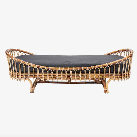 Madison Daybed, Natur, Rattan