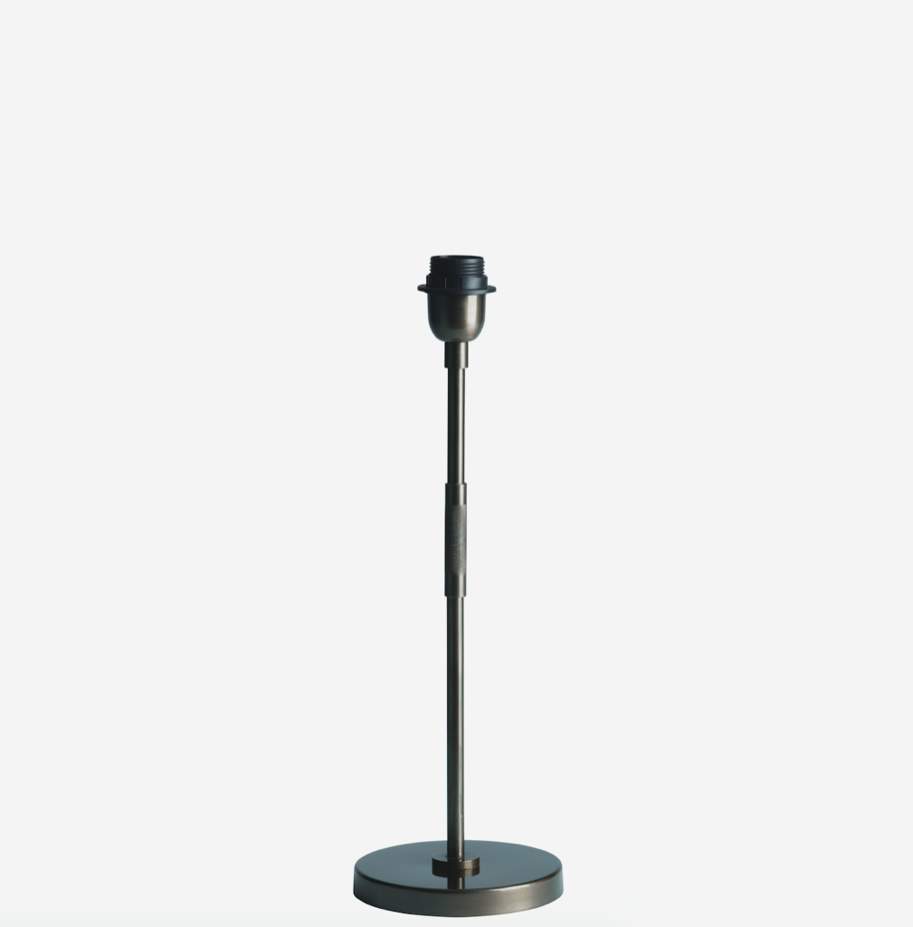 Image of   Bordlampe, H 47 cm, jern