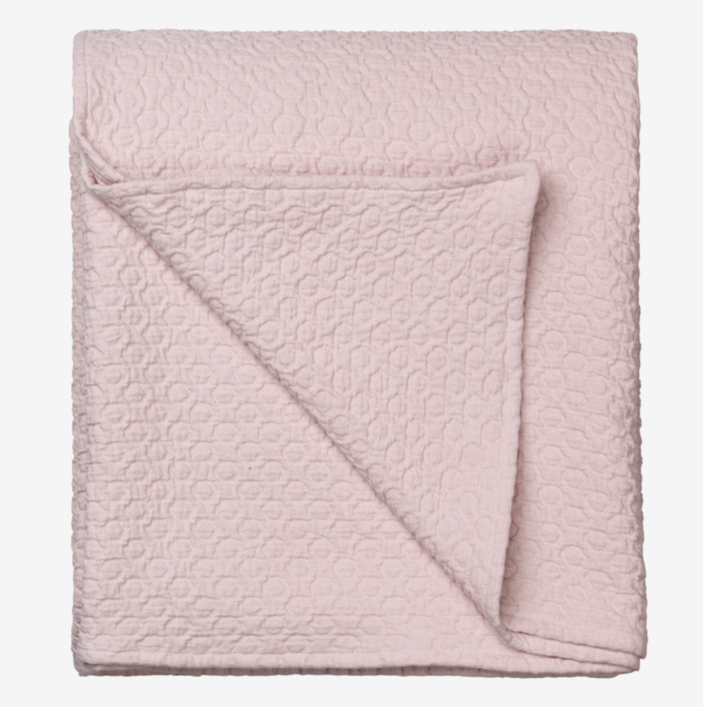 Image of   Holly Bedspread-L-DUSTY ROSE*