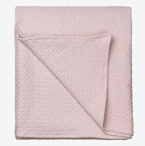 Cozy Living Holly Bedspread-L-DUSTY ROSE* - NordlyHome.dk