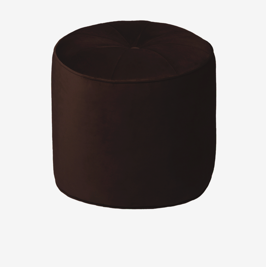 Cozy Living Marocco Pouf - S - CHESTNUT - NordlyHome.dk