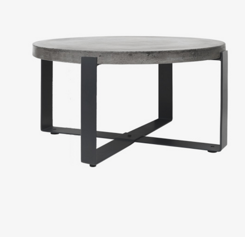 Cozy Living Concrete Coffee table -Round* - NordlyHome.dk