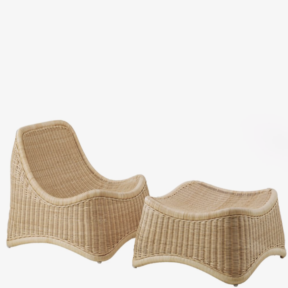 Image of   Chill Loungestol | Rattan - Natural