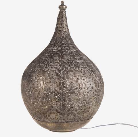 Bordlampe | 28X46 cm | Gold Antique