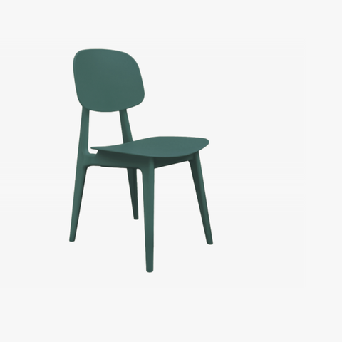 Dining chair Vintage green