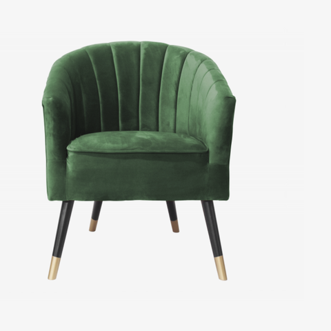 Chair Royal velvet dark green
