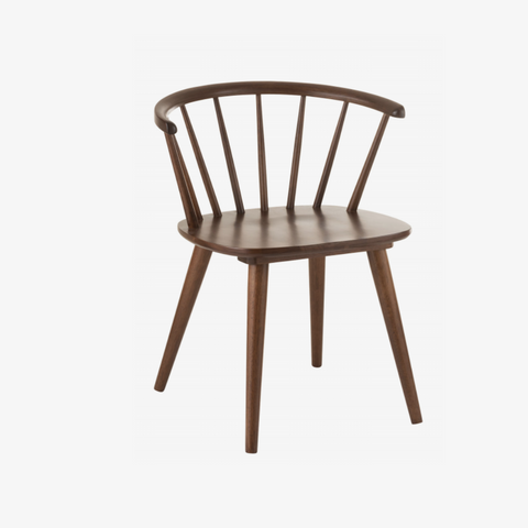 J-Line CHAIR VINTAGE WOOD BROWN - NordlyHome.dk