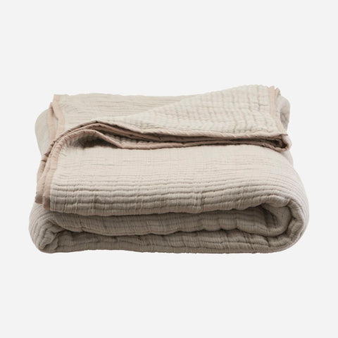 House doctor Bedspread, Lia, Sand - NordlyHome.dk