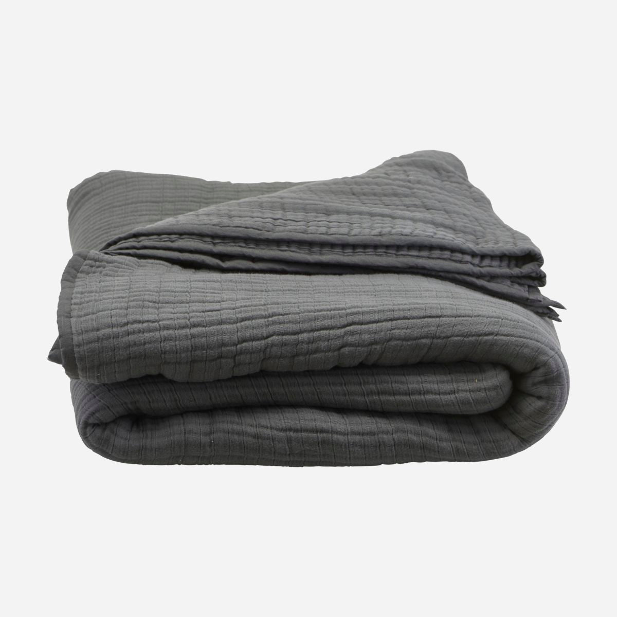 Image of   Bedspread, Lia, Dark grey