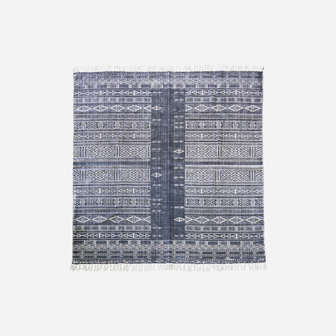House doctor Rug, Julia, Black/White, Size may vary - NordlyHome.dk