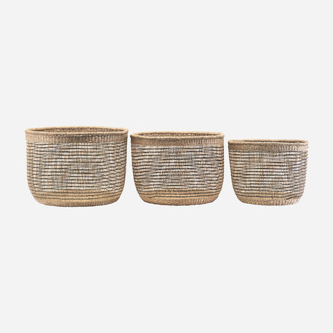 House doctor Basket, Shape mix, Set of 3 sizes - NordlyHome.dk
