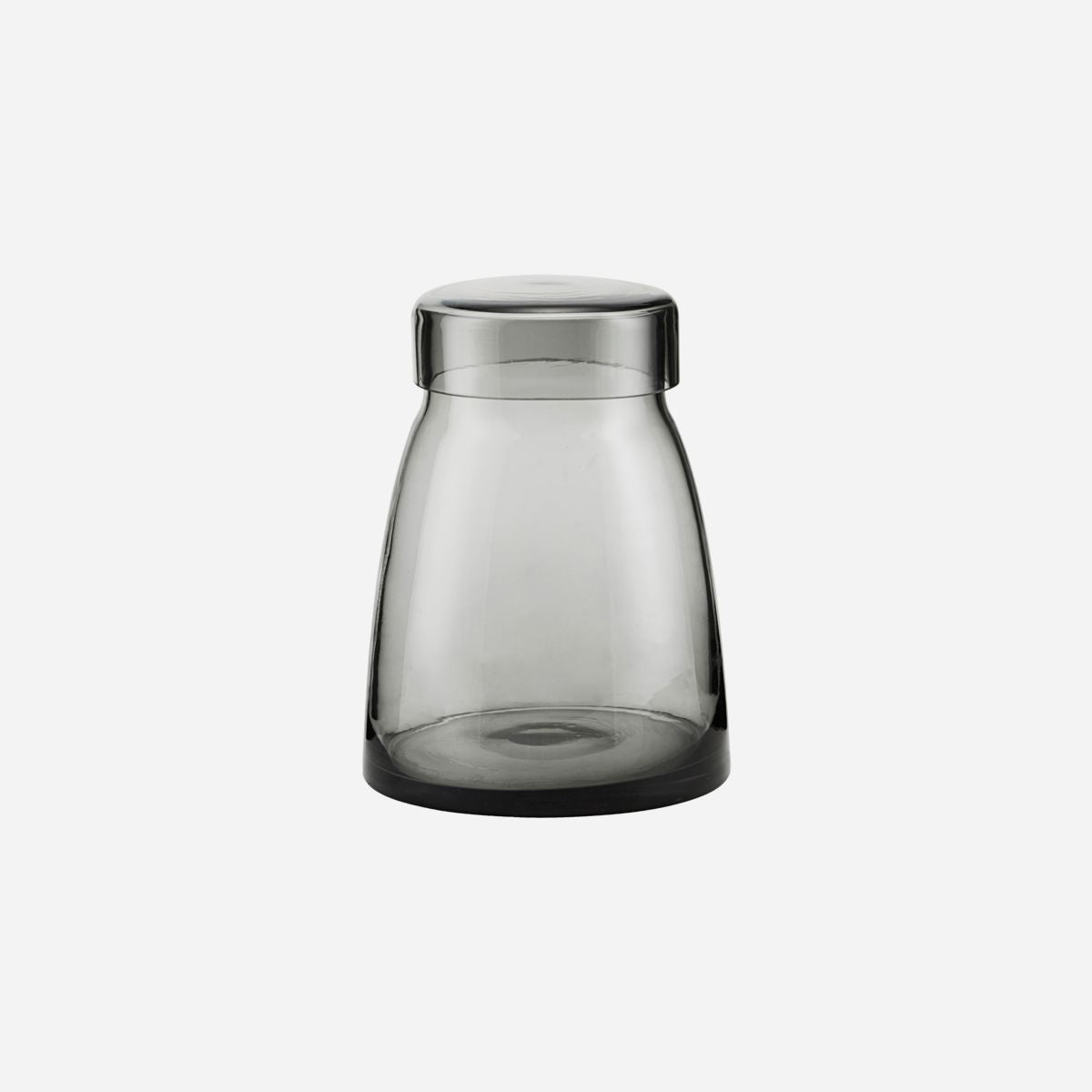 Storage w. lid, Mazzo, Grey, 1500 ml