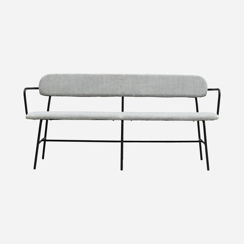 House doctor Bench, Classico, Light grey, Seat height: 46  cm - NordlyHome.dk