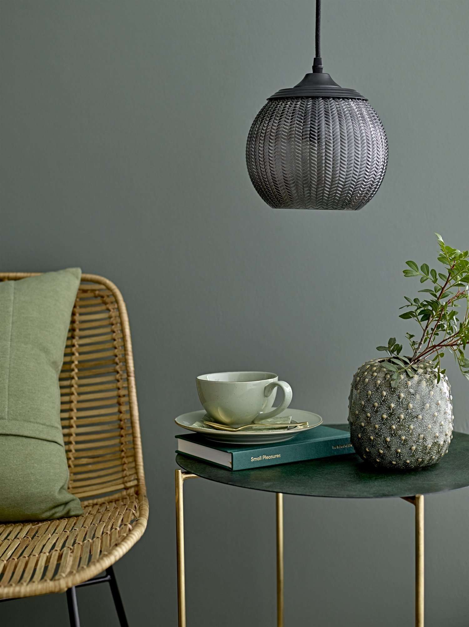Bloomingville Dom Stol, Natur, Rattan - NordlyHome.dk