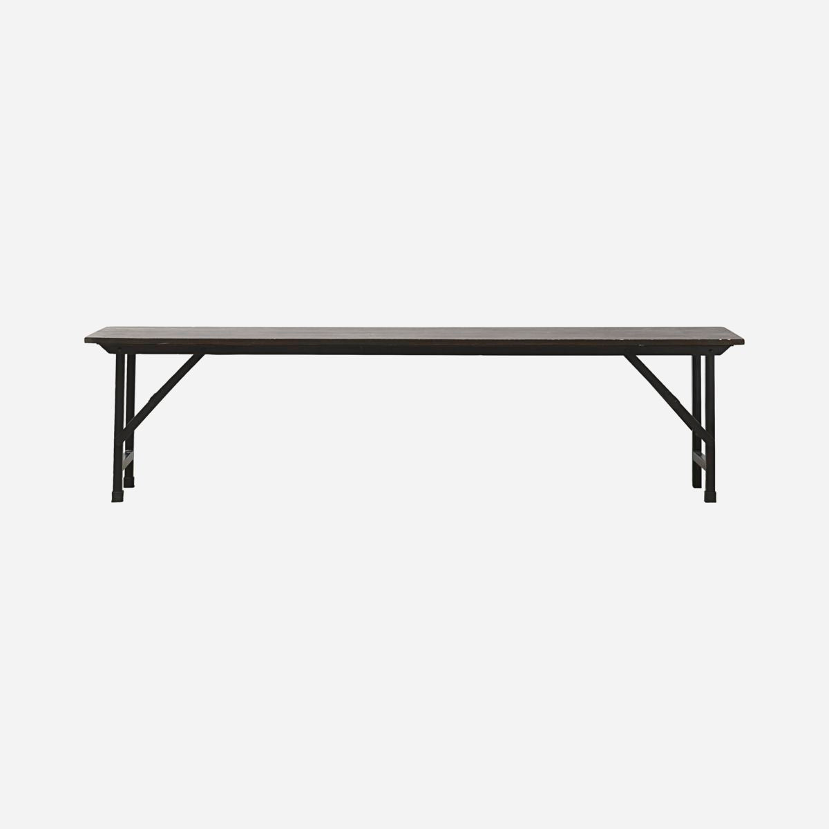 Image of   Bench, Party, Black, Foldable