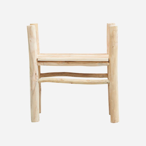 House doctor Dining chair, Teaky, Nature, Seat height: 45 cm - NordlyHome.dk