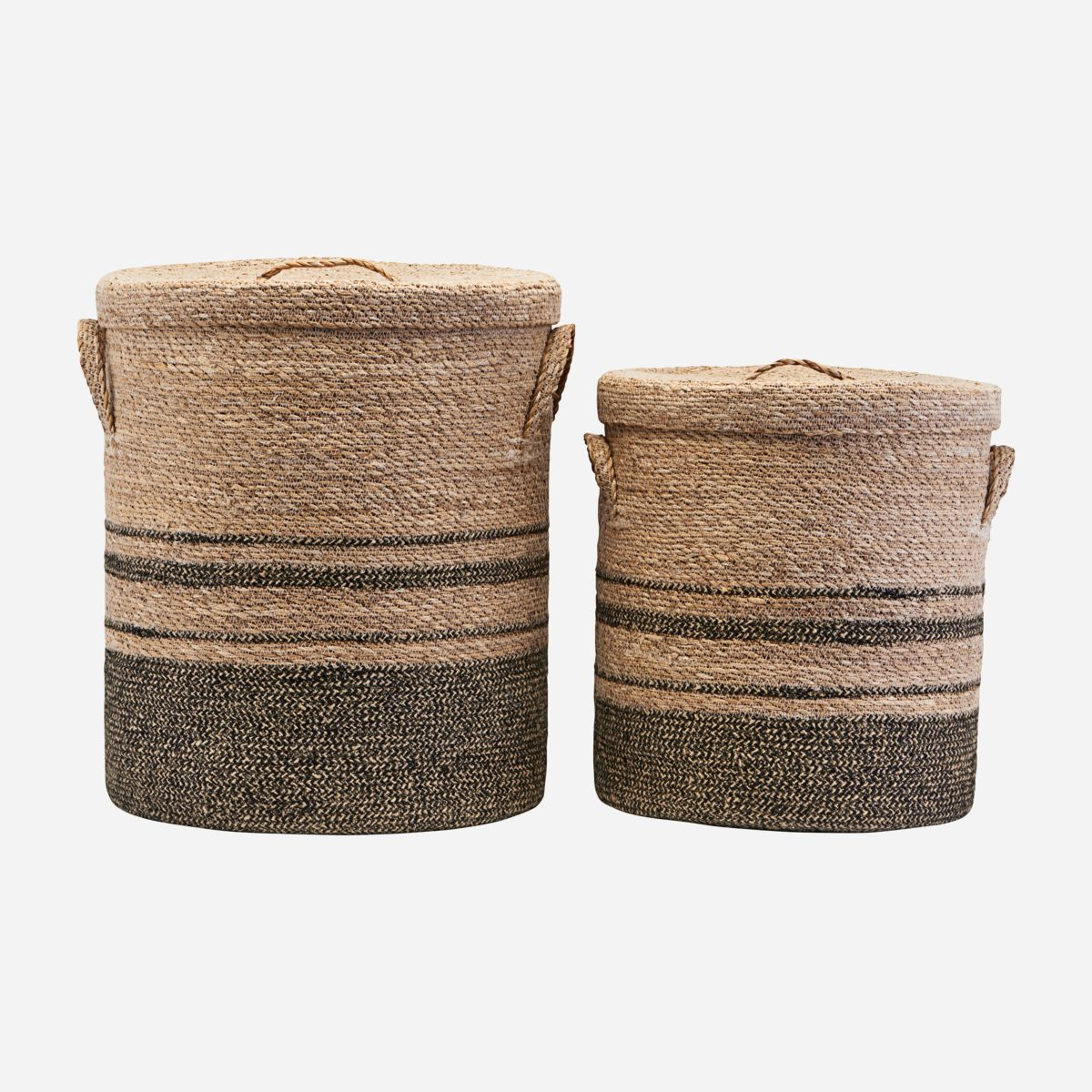 Image of   Storage w. lid, Laundry, Set of 2 sizes