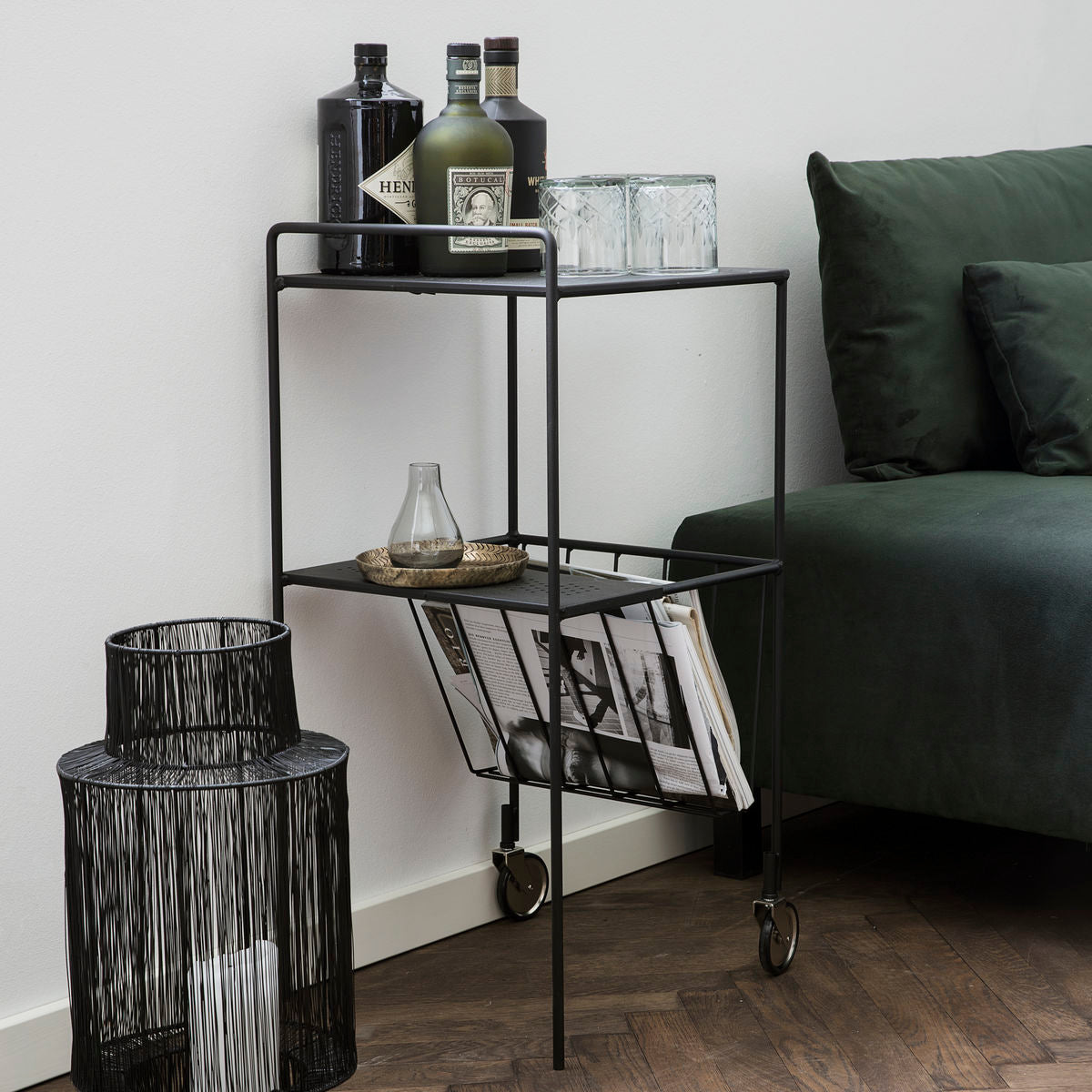 House doctor TROLLEY, USE, SORT - NordlyHome.dk