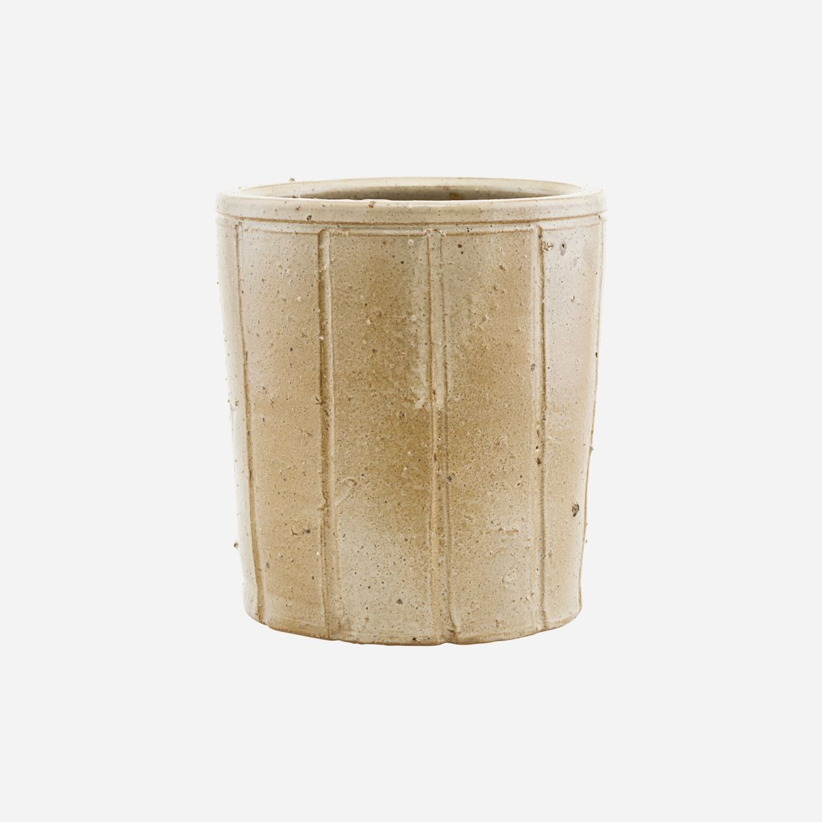Image of   Planter, Julian, Beige, Finish/Colour may vary