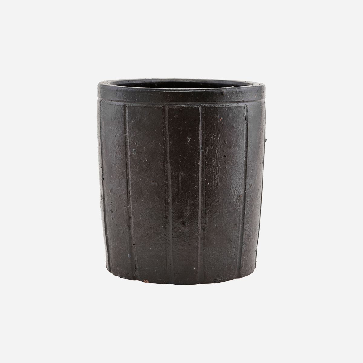 Image of   Planter, Julian, Brown, Finish/Colour may vary