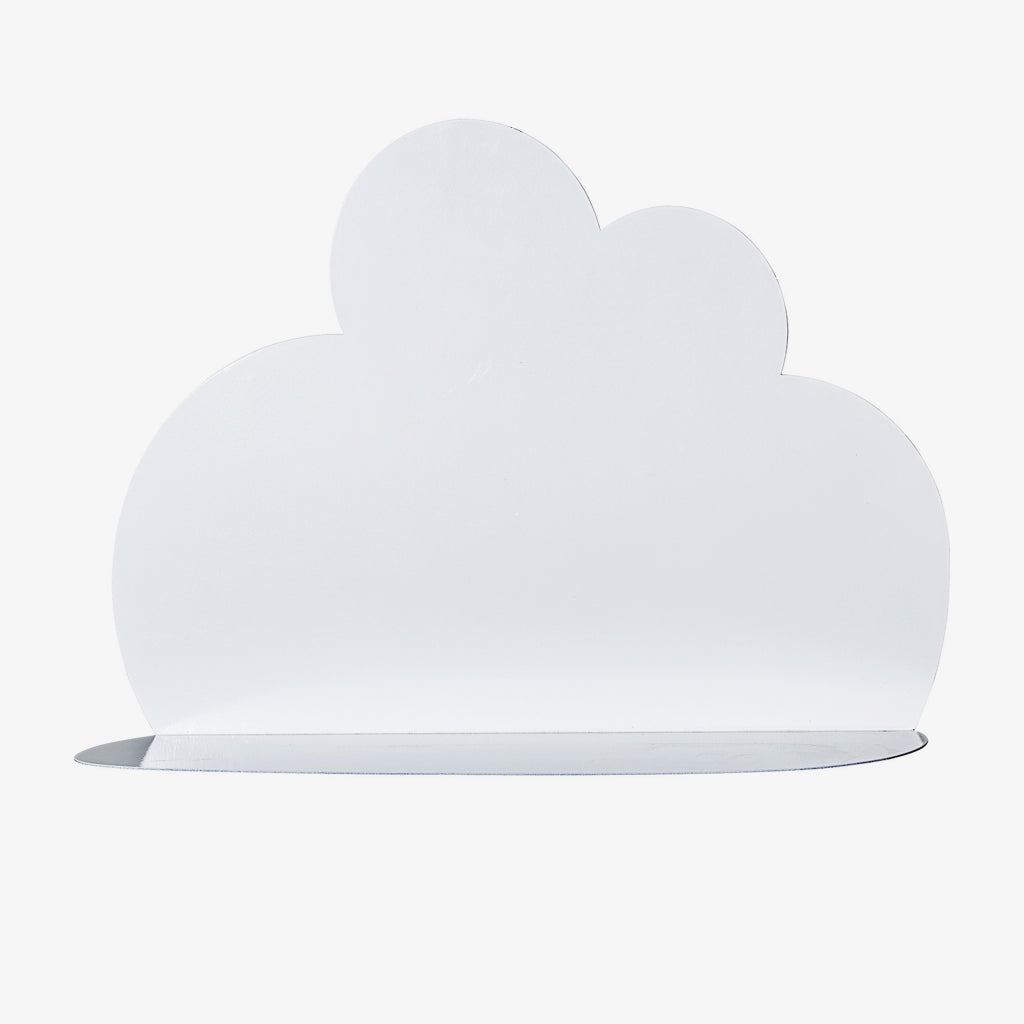 Image of   Cloud Shelf, Hvid, Metal, Small