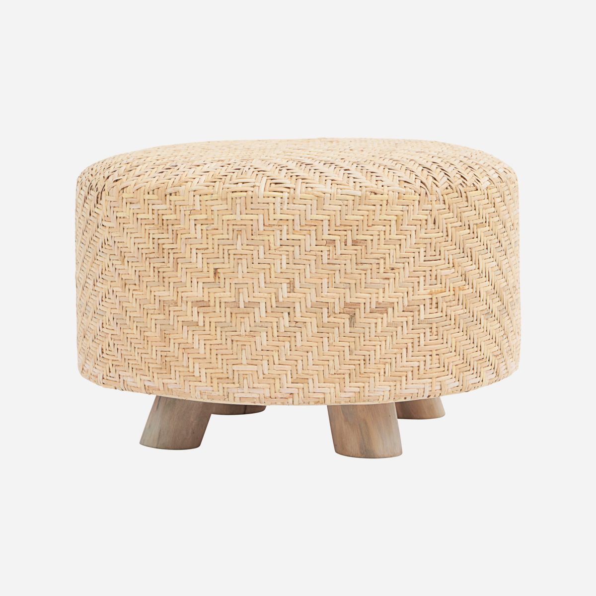 Image of   Pouf, Weave, Nature
