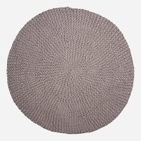 House doctor Rug, Crochet, Grey, Colour/Finish may vary - NordlyHome.dk