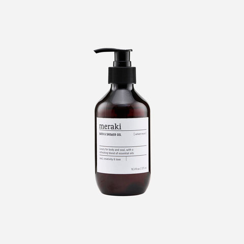 Meraki Bath & Shower oil, Velvet mood - NordlyHome.dk