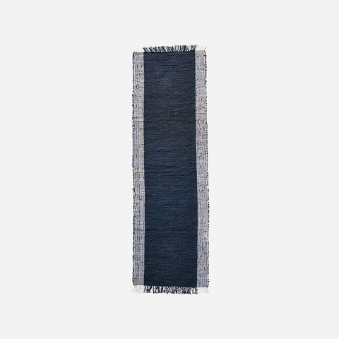 House doctor Rug, Cindi, Black/Natural - NordlyHome.dk