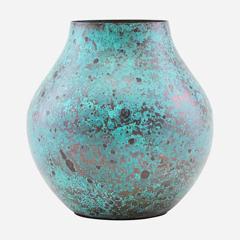 House doctor Vase, Kojo, Turquoise - NordlyHome.dk