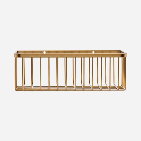 House doctor Basket, Bath, Brushed brass - NordlyHome.dk