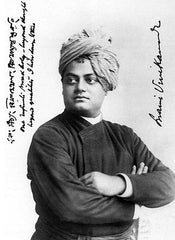 Swami Vivekananda signed and dated 1893