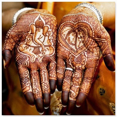 Traditional Henna Art from India