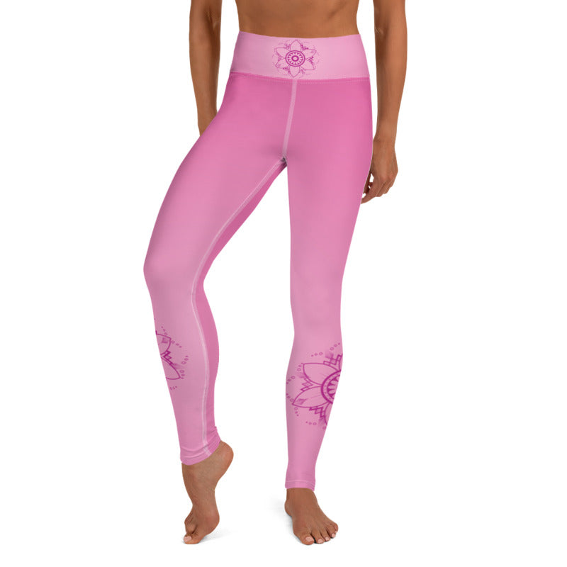 Yama High Waist Womens Yoga Leggings