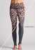 Leopard Reversible Grey High Waist Womens Yoga Pants