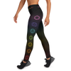 Healing Chakras High Waist Womens Yoga Leggings