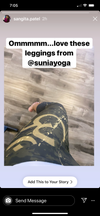 Sangita Patel of Entertainment Tonight Canada loves our Aum Capri Leggings! Check out the video below of her and her daughter rocking a Mommy and Me workout in these lovely Capri Leggings!