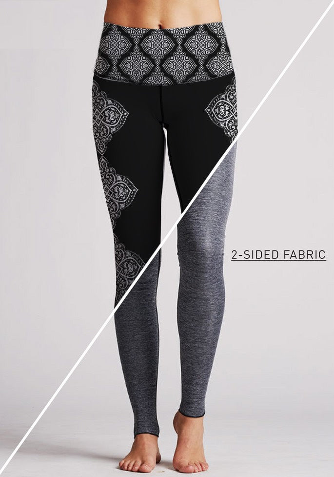 Ahimsa Yoga Leggings by Sunia Yoga