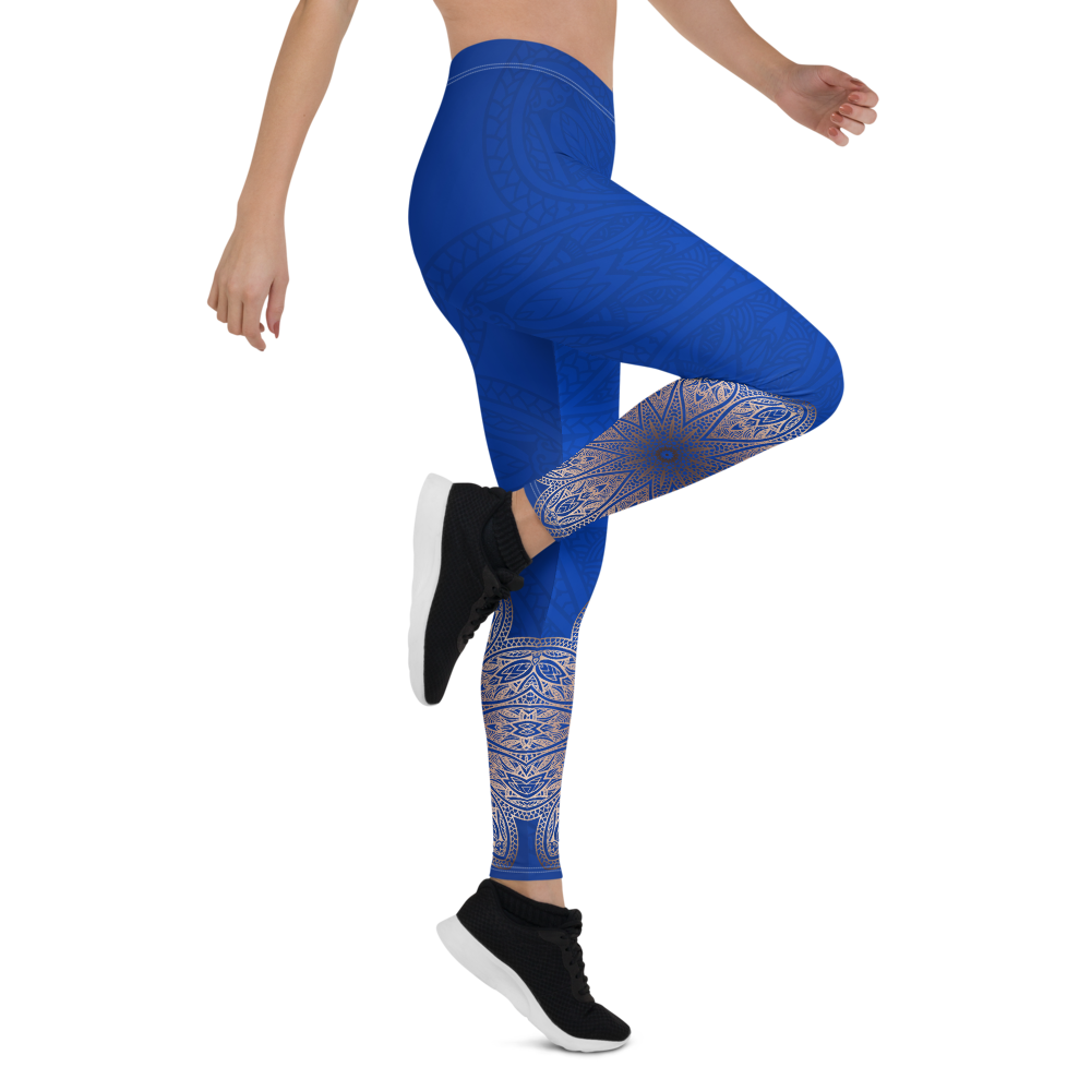 Island Blue Womens Yoga Leggings