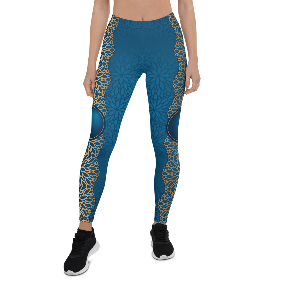 Warrior Womens Yoga Leggings
