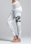 Eco Friendly Recycled Fabric OM High Waist Womens Yoga Pants