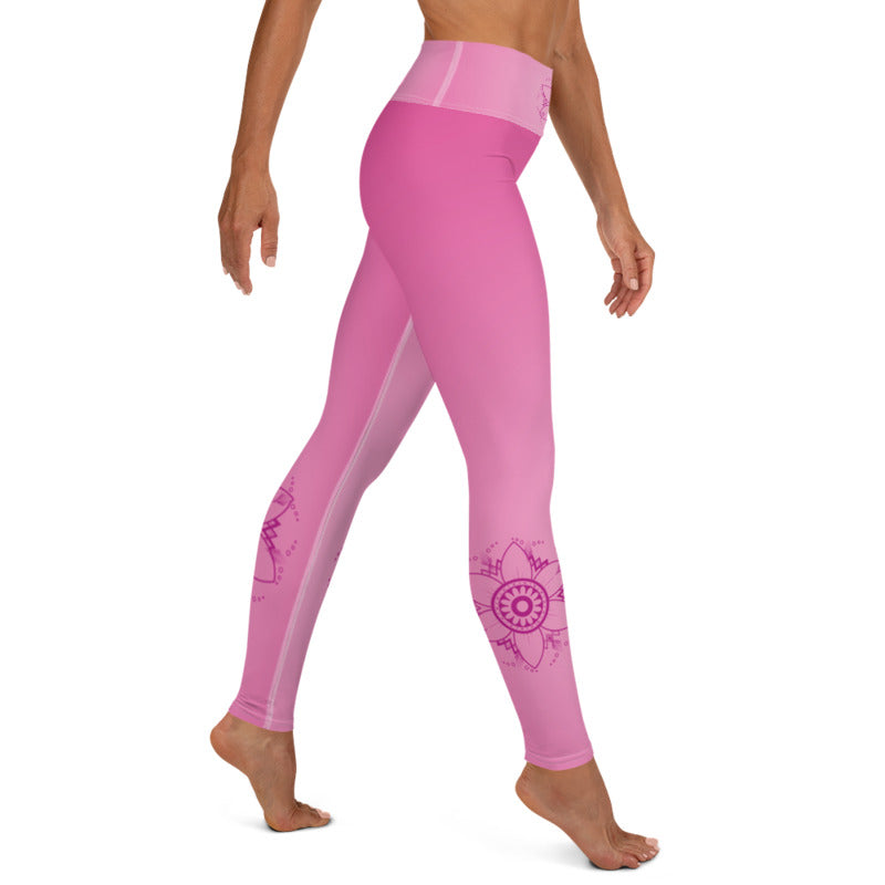 NiYama High Waist Womens Yoga Leggings