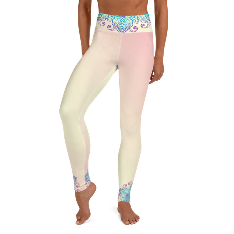 Prajna High Waist Womens Yoga Leggings