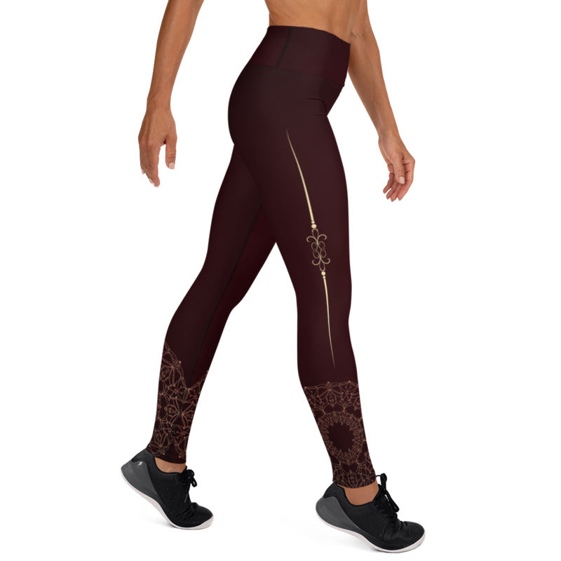 Bodhi High Waist Womens Yoga Leggings