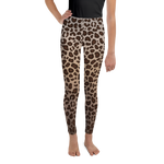 Leopard Print Youth Leggings