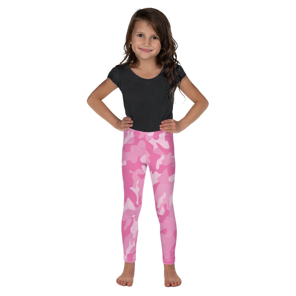 Pink Camo Leggings for Girls