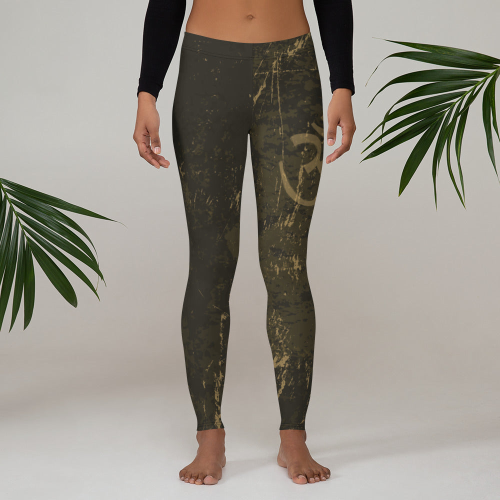 Aum Womens Yoga Leggings