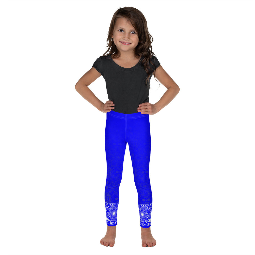 Jhana (Electric Blue) Leggings for Girls