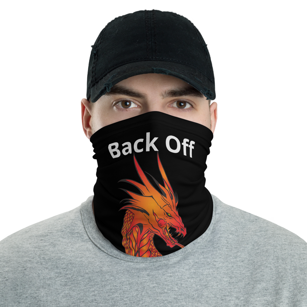 Neck Gaiter - Back off