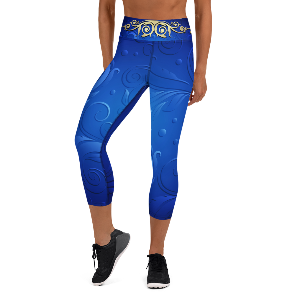 Ajna High Waist Yoga Capri Leggings